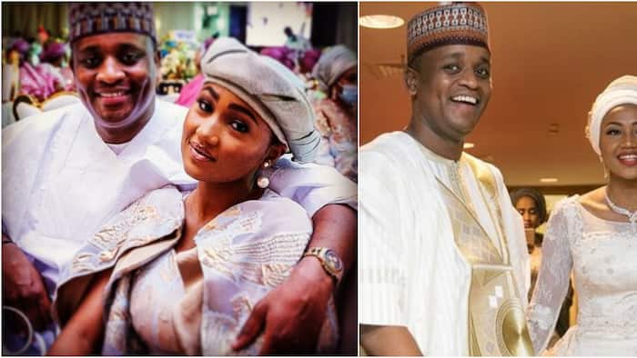You've left me speechless: Zahra Buhari gushes as she publicly plays lovey-dovey with her hubby online