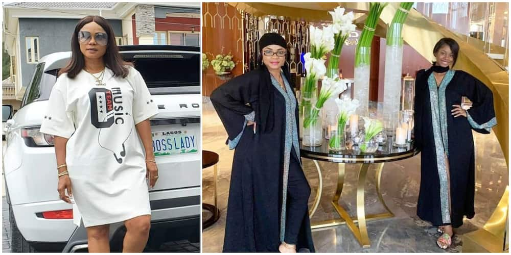 Grandma Fever: I Was 23 When I Gave Birth to You, Marry Early, Iyabo Ojo Tells 20-Year-Old Daughter