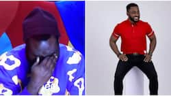 BBNaija: Pere goes emotional, burst into tears while speaking about his mother and girlfriend