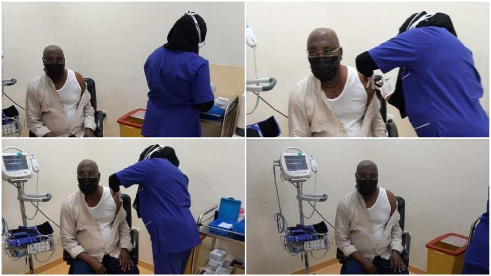 COVID-19 vaccine: Atiku takes 2nd dose as Nigerians wait for FG