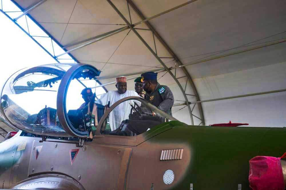 First batch of Tucano fighter jets arrive Nigeria.