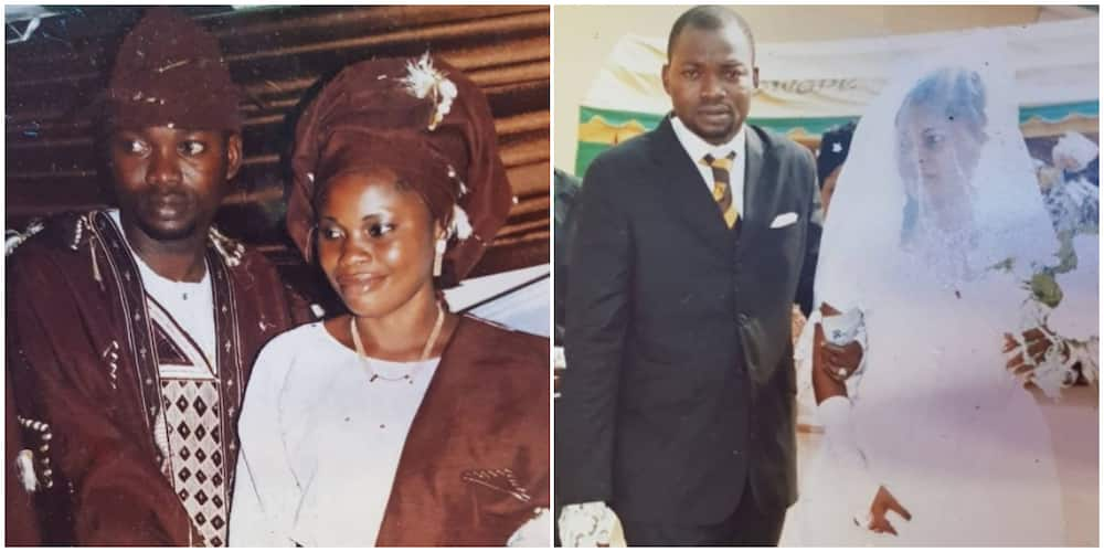 Actor Adekola Tijani celebrates anniversary with wife, shares throwback photos