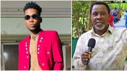 God used you to heal me from skin disease: Singer Victor AD pens emotional tribute to late TB Joshua