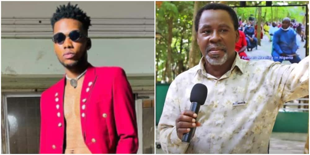 Victor AD talks fondly about late TB Joshua