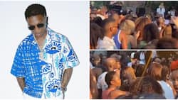 Fans predict Wizkid will win 2nd Grammy as Americans sing loudly and dance to singer's Essence in viral video