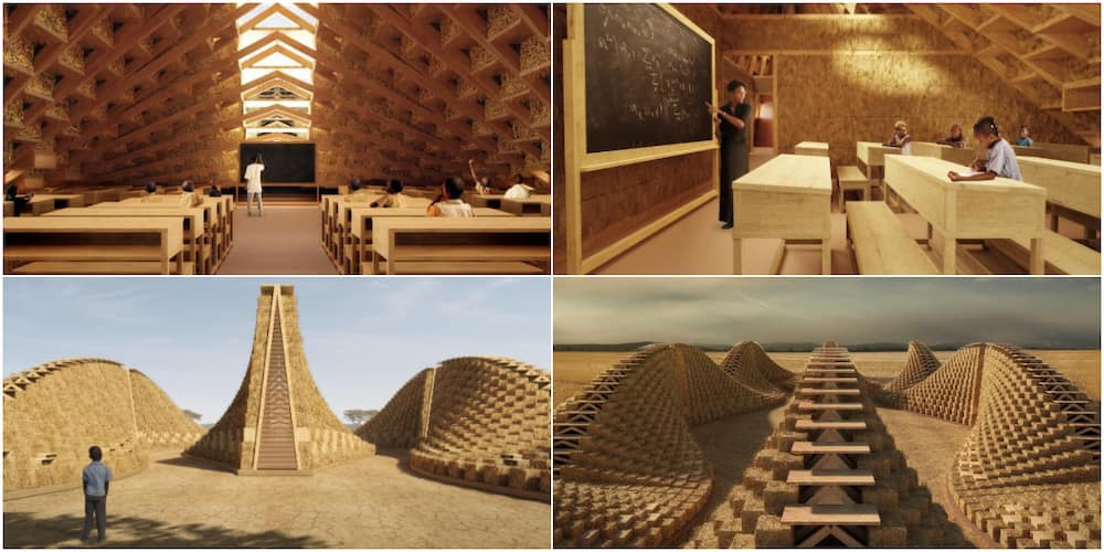 Social Media Reacts to Design for Proposed School in Malawi as Architectural Brilliance Lights up the Internet
