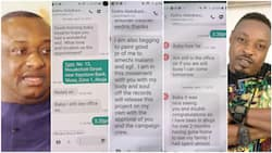 Minister Festus 'drags' Eedris in mud, shares screenshots of texts where singer begged to support Buhari in 2018