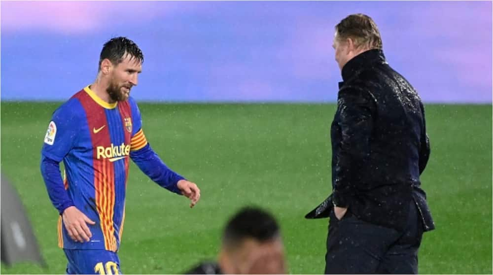 Barcelona Manager Ronald Koeman Sets Record Straight at Camp Nou Following Departure of Lionel Messi