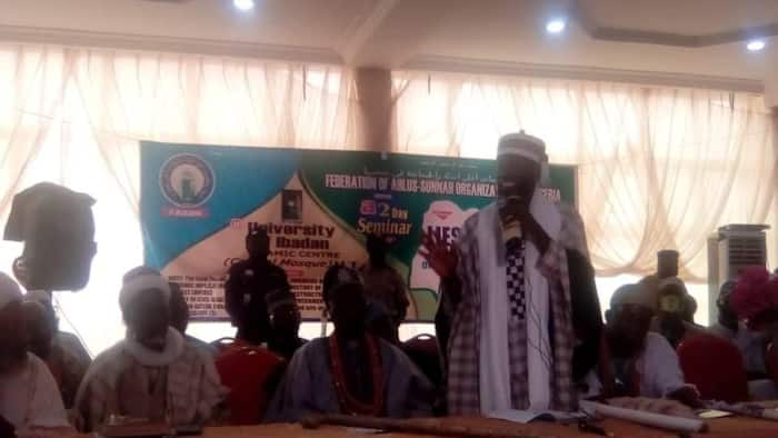 UI chief Imam sends message to agitators, says Nigeria can't be divided