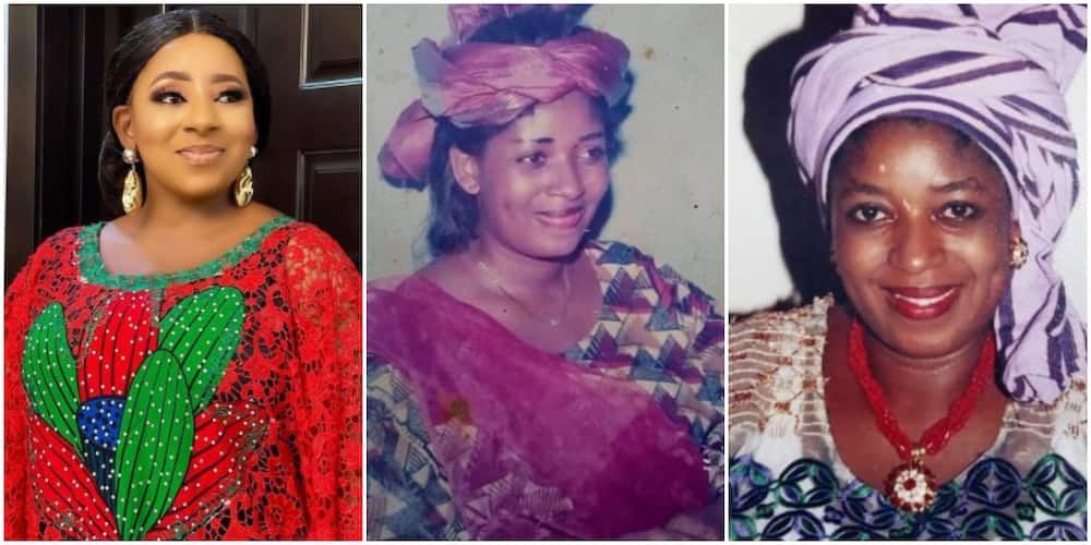 19 Years Ago Like Yesterday: Actress Mide Remembers Late Mum Funmi Martins With Touching Words