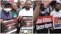 Protests rock four Nigerian states over insecurity, bad governance