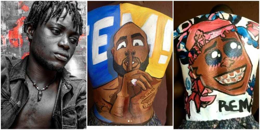 Meet Balo Art, a talented artist who makes amazing body artworks