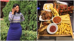 Photo of N15k meal Nigerian lady got in Benin city causes 'commotion' online, people ask questions