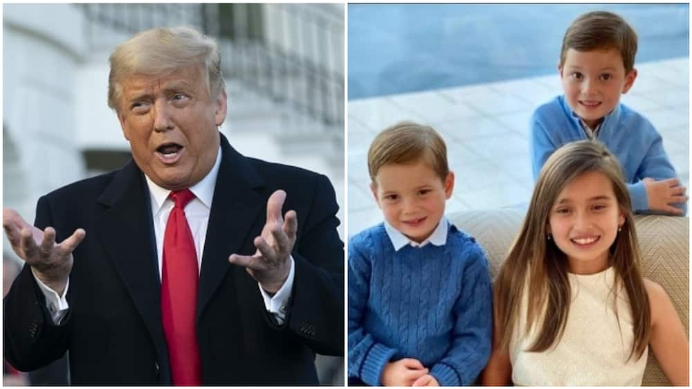 Trump's grandkids' lives are well documented by Ivanka on Instagram. Photo source: Getty Images/Chris Kleponis, Instagram/Ivanka Trump