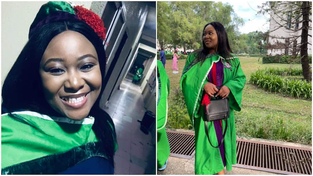 Nigerian Lady Who Never Thought She Would Get Admission 5yrs Ago Graduates As Best Student With 4.91 CGPA