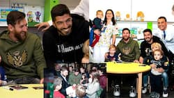 Messi and Suarez leave young boy in tears after visit to Barcelona hospital (photo)