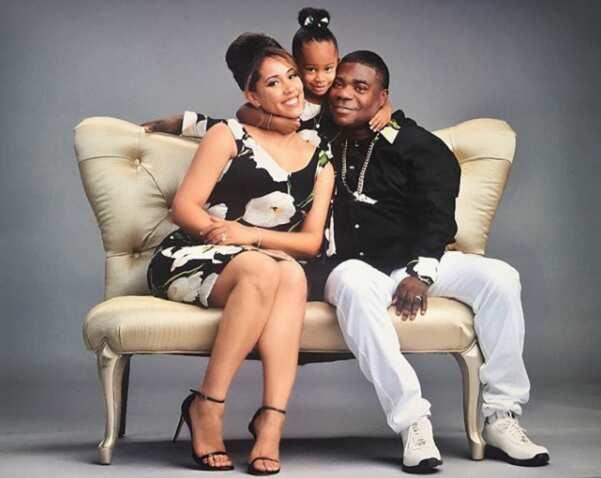 Tracy Morgan family
