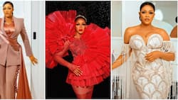 Nollywood actress Eve Esin slays in 3 gorgeous outfits to celebrate 40th birthday, shares photos