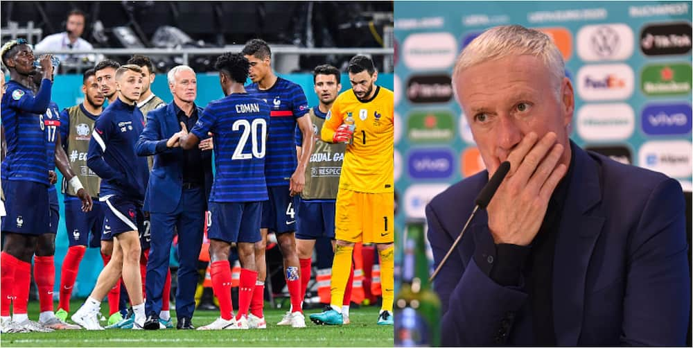 French Star Who Refused to be substituted Had Arguments With France Coach After Loss To Switzerland