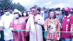 Akwa Ibom @ 34: Udom Emmanuel inuagurates 9.81km roads to mark anniversary