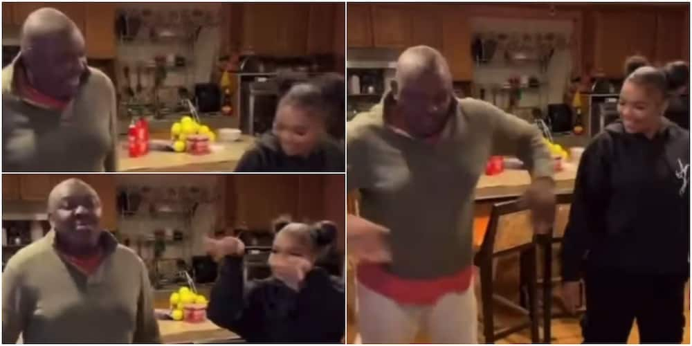 Nigerian man and his daughter warm hearts online with amazing dance moves