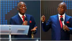 Don't jump into marriage because somebody has money: Bishop Oyedepo advises Nigerians, many react