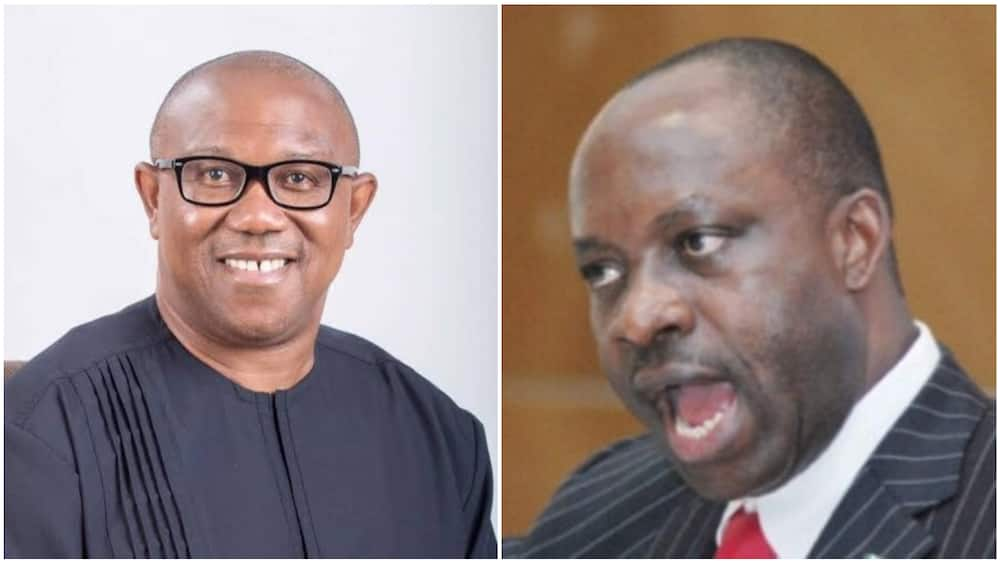 PDP Chieftain Peter Obi Reacts to Attack on Soludo as Ex-CBN Governor's Whereabouts Remain Unknown