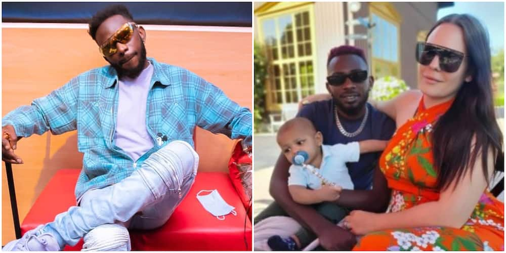 Singer May D parts ways with his wife, says he's free again