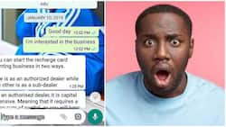 Nigerian man shares screenshots of how he was allegedly scammed by a pastor, they met in a group chat