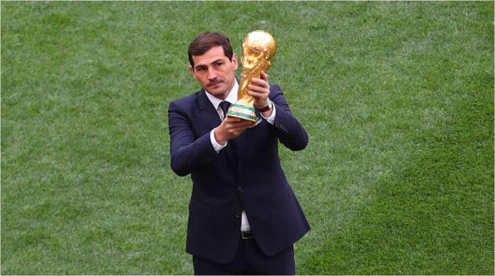 Iker Casillas rates former teammate Ronaldo ahead of rival Lionel Messi