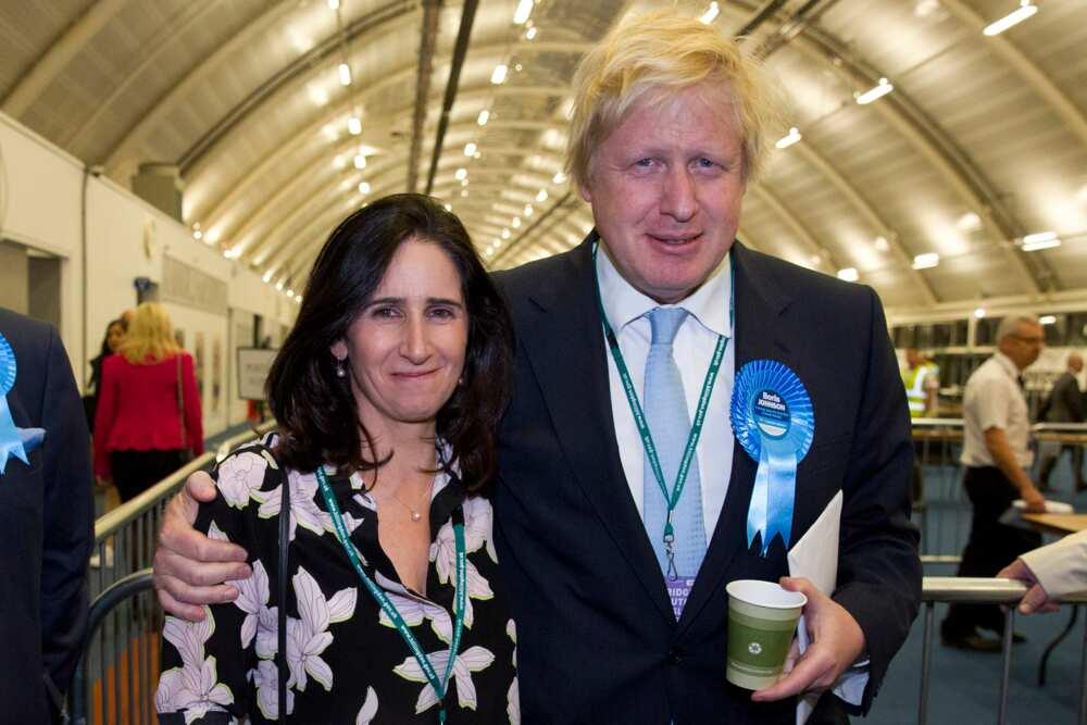 Boris Johnson family