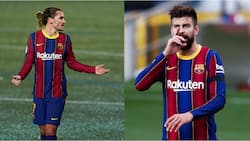 Barcelona star Pique 'attacks' teammate during astonishing argument as PSG dominate at Nou Camp