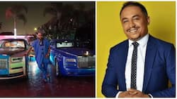 Daddy Freeze reacts to E-Money buying a 2019 Rolls Royce Phantom, shares post on Instagram