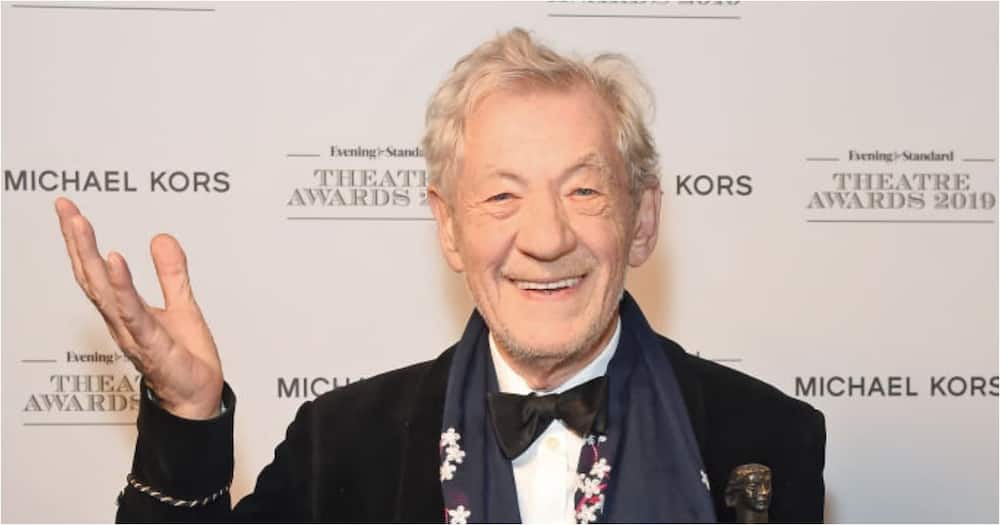 Sir Ian McKellan: Lord of the Rings actor gets the Covid vaccine at 81