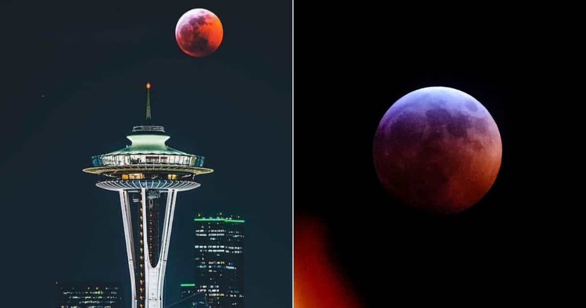 red moon january 2019 seattle - photo #12