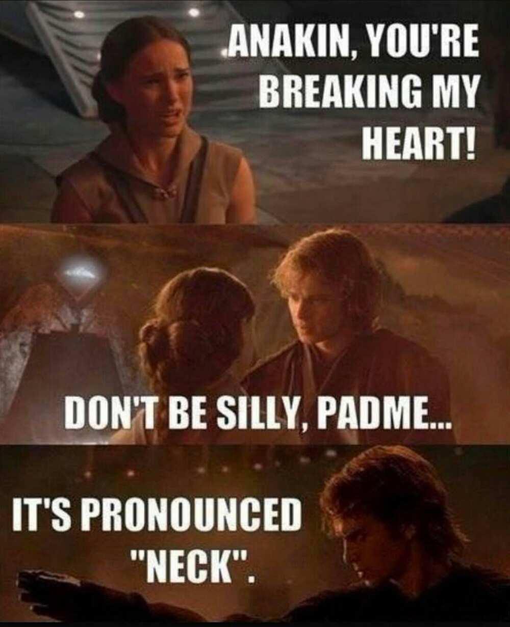Anakin Skywalker meme