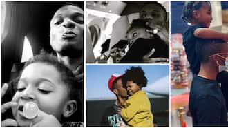 Mini starboy: 10 adorable moments between Wizkid and Zion as he clocks 4