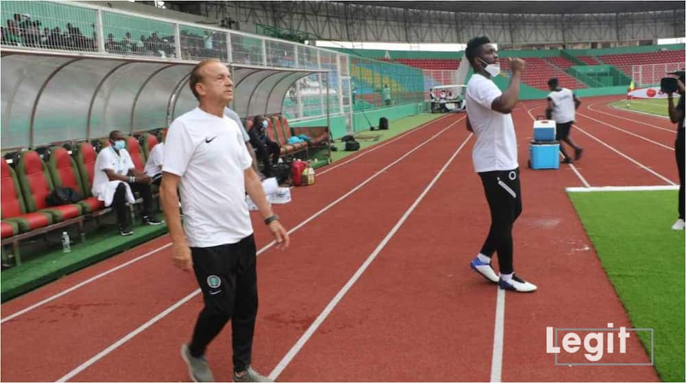 Nigerian legend tells Gernot Rohr to win AFCON title before he can be ranked among the best