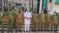 Immigration Boss, Others Hail Ugwuanyi on Peace, Development, Support to Security Agencies