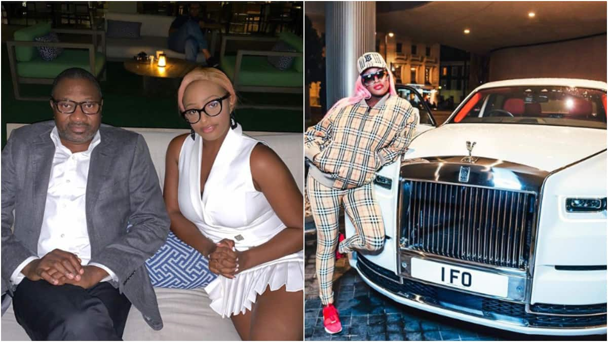 Beta pikin: DJ Cuppy buys dad N181m Roll Royce Phantom as Christmas gift