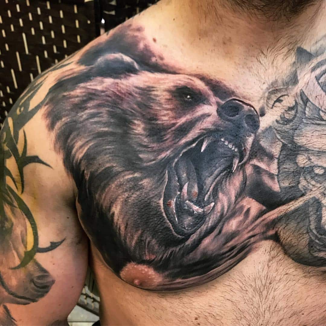 50 cool bear tattoo design ideas and meanings ▷ Legit ng