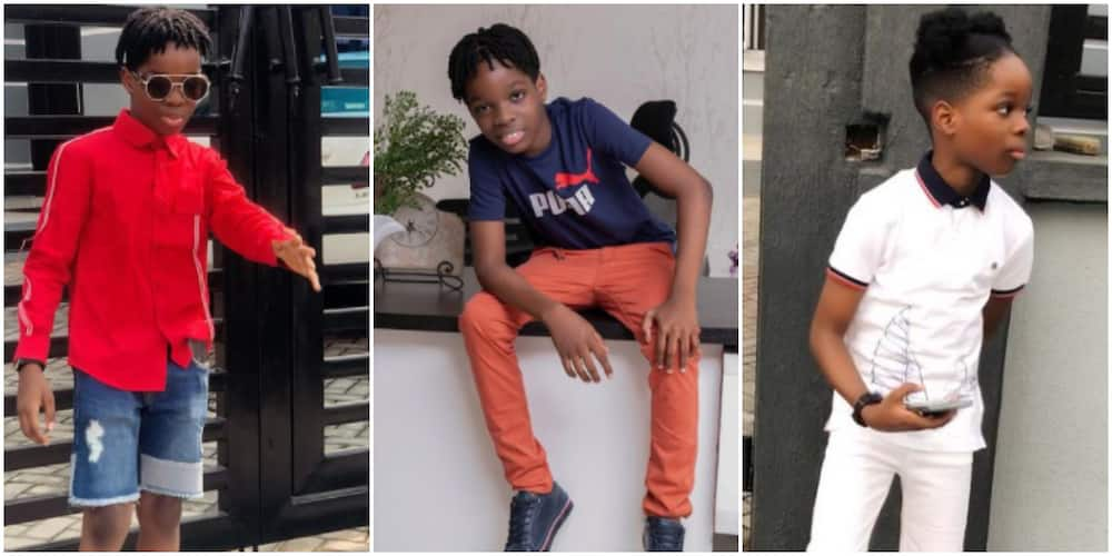 Big 10 soon: 5 incredible fashion moments of Wizkid's first son Tife