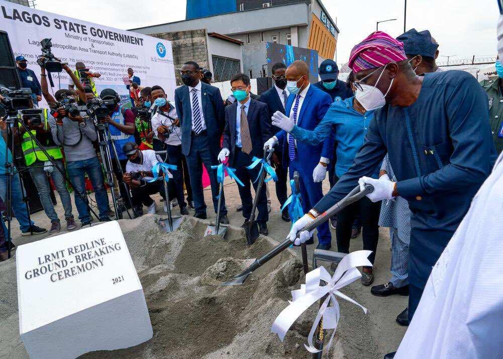 263 Properties to Be Demolished as Sanwo-Olu Inaugurates New Rail Project in Lagos