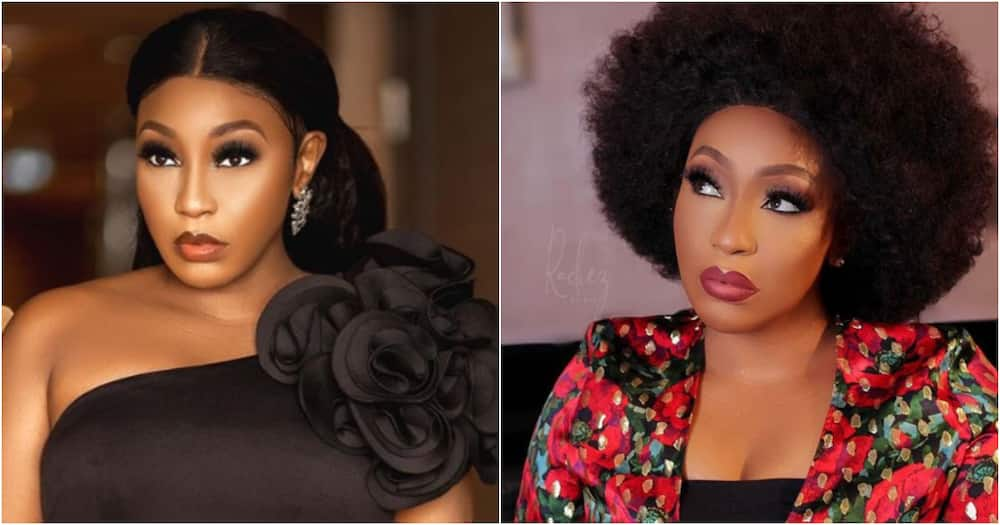Nollywood actress Rita Dominic shares photos with mystery man, fans react