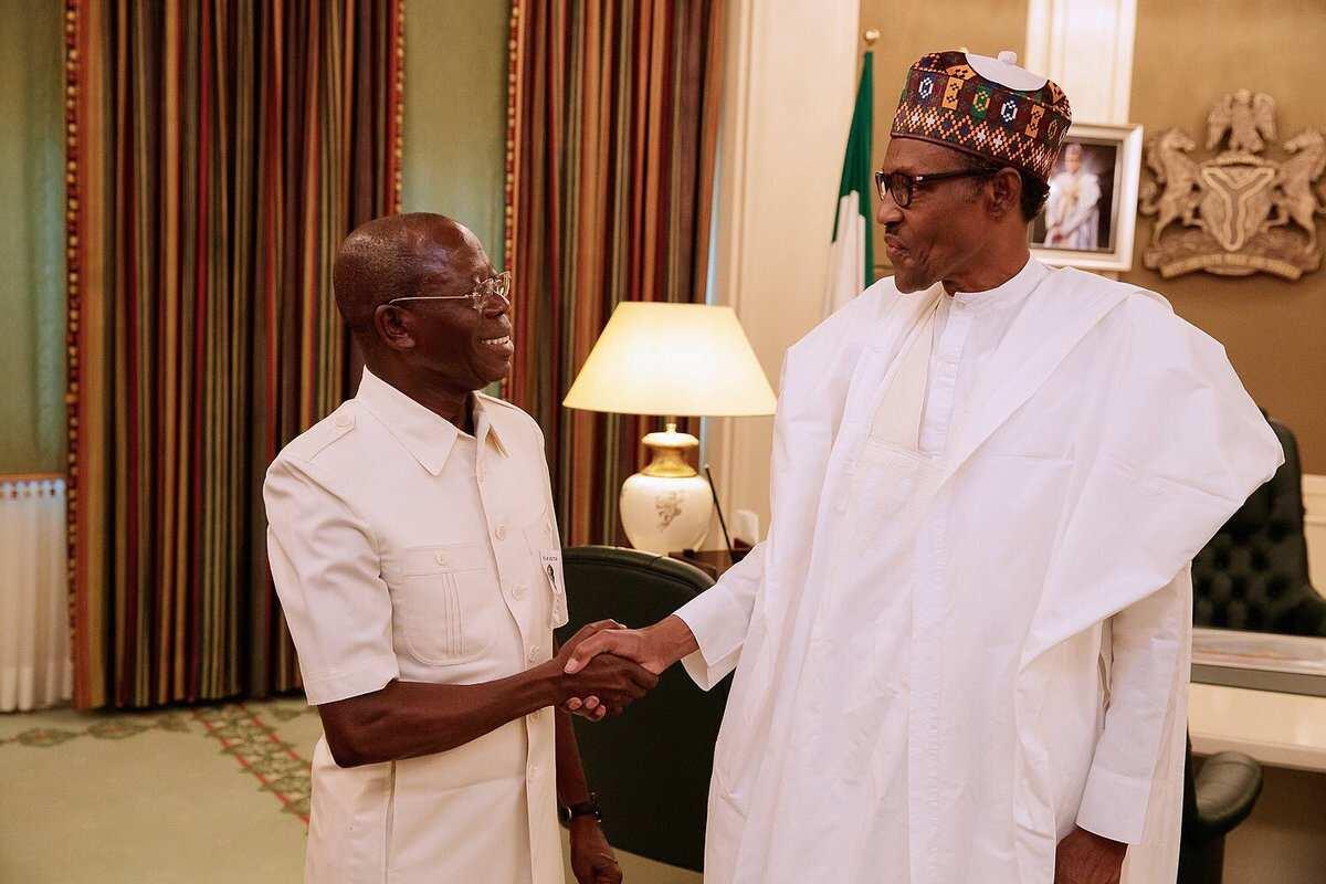 Oshiomhole meets Buhari - APC won't lose Edo