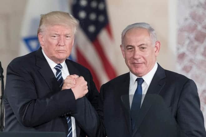 Netanyahu removes joint photo with Trump from Twitter banner