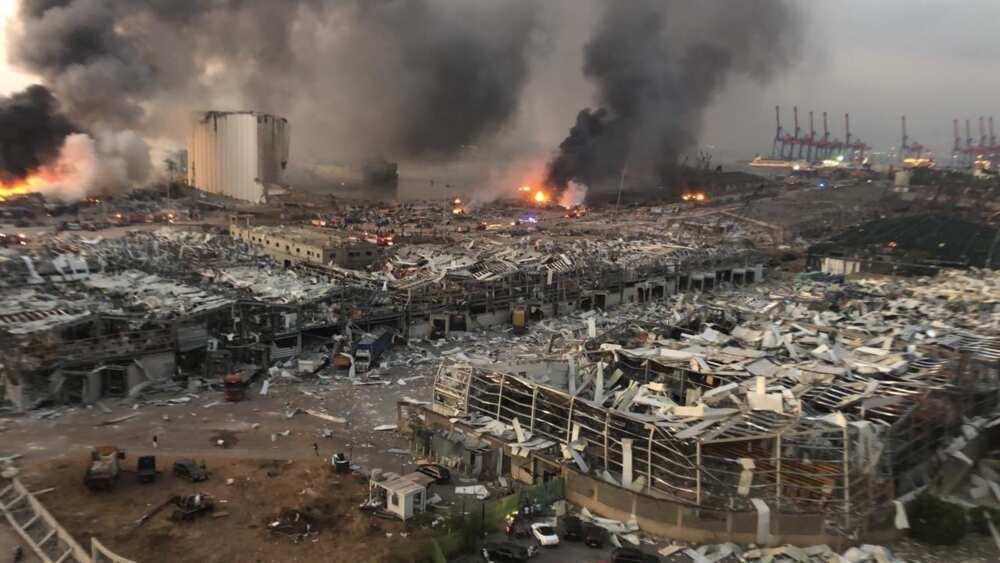Yanzu-yanzu: Manyan Bama-bamai biyu sun rikita Beirut, babbar birnin Lebanon (Hotuna da bidiyo)