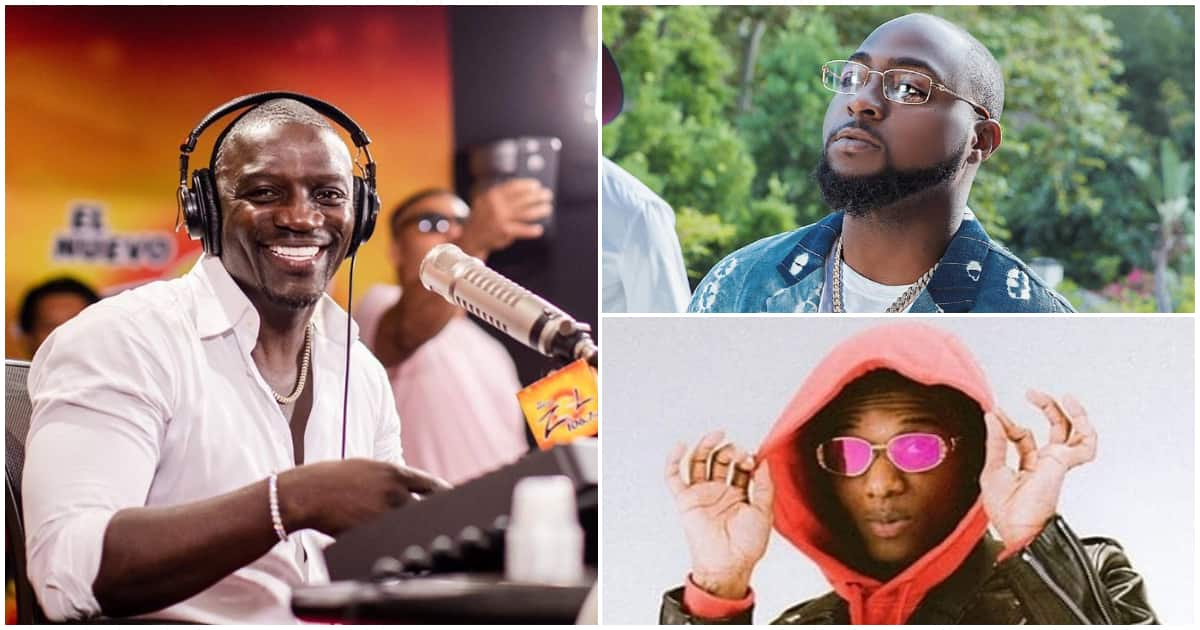 Akon reveals he once signed Wizkid and Davido ,says