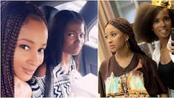 Adesua Etomi reveals how Jemima Osunde moved into her home to help with her 1st IVF journey