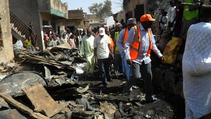 Tragedy as fire destroys 77 shops in famous Kano market